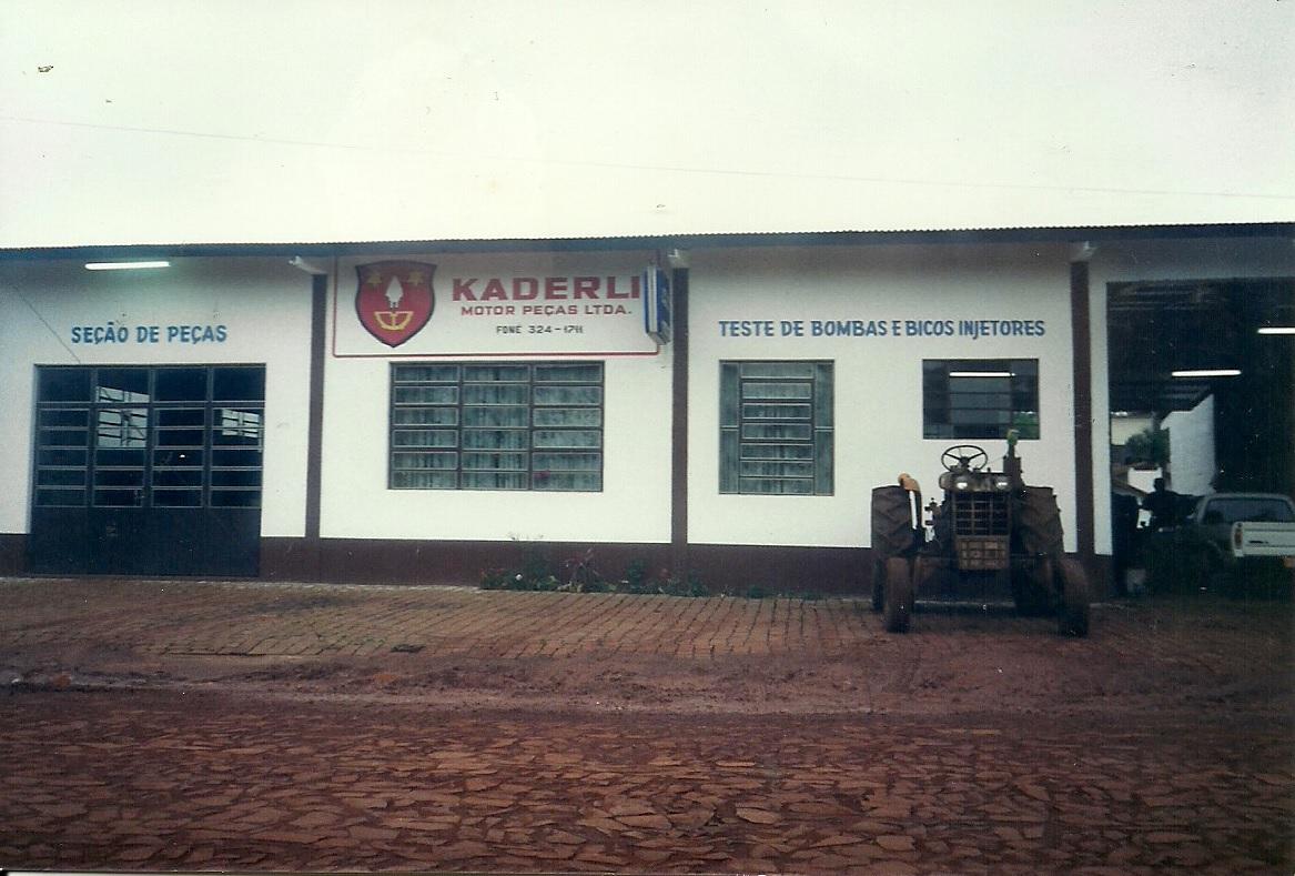 Instalações Kaderli Motor Peças 1988